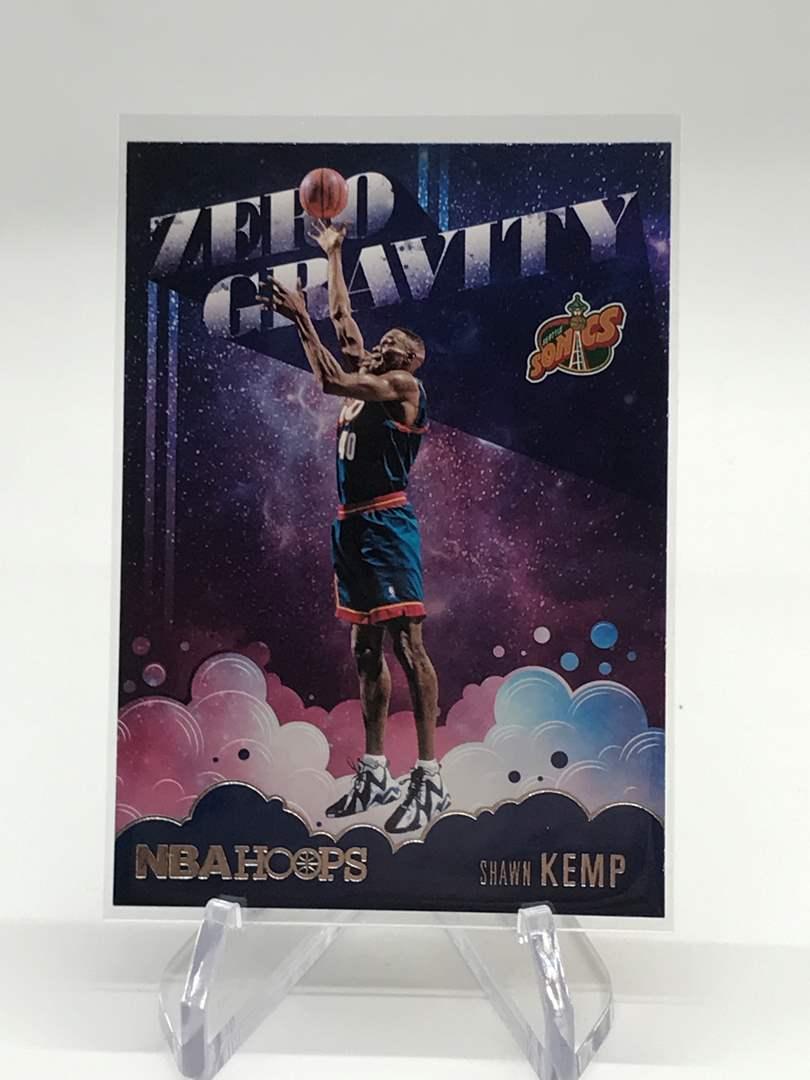 Lot # 157 2020-21 PANINI NBA HOOPS Zero Gravity SHAWN KEMP (main image)