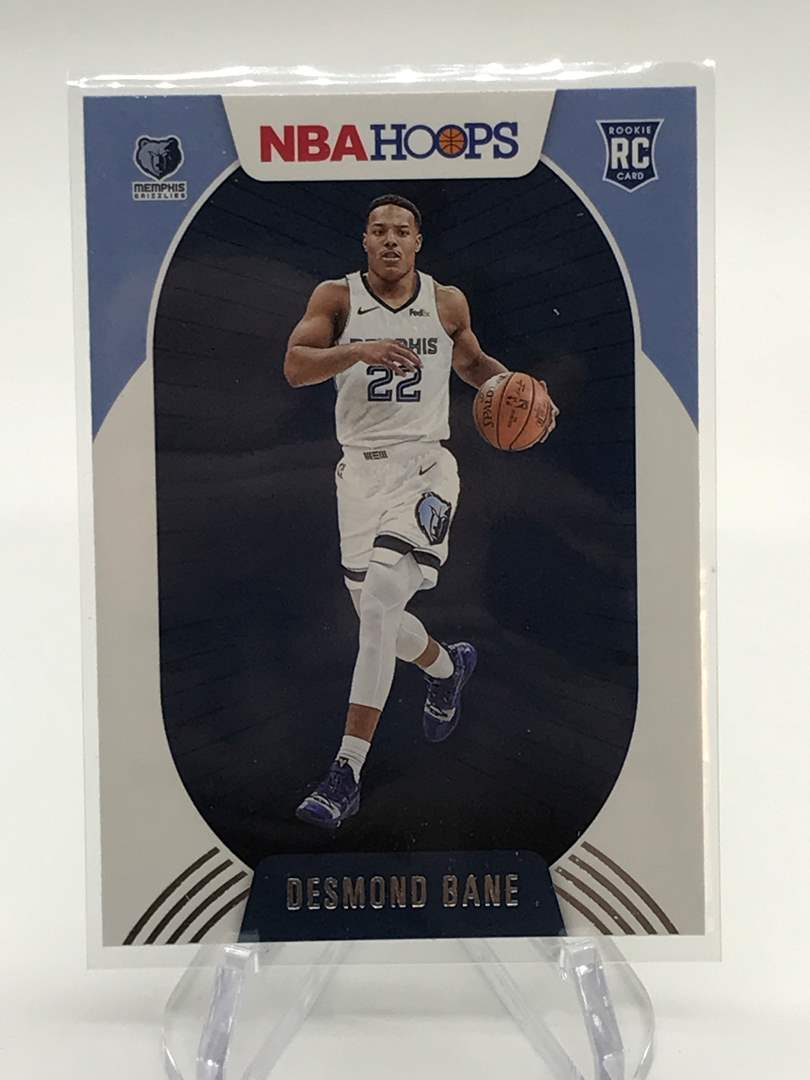 Lot # 161 2020-21 PANINI NBA HOOPS RC DESMOND BANE (main image)