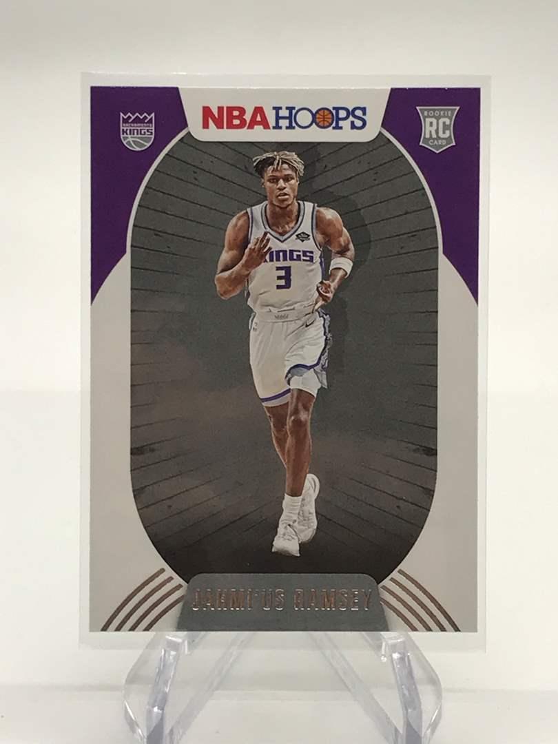 Lot # 163 2020-21 PANINI NBA HOOPS RC JAHMI'US RAMSEY (main image)