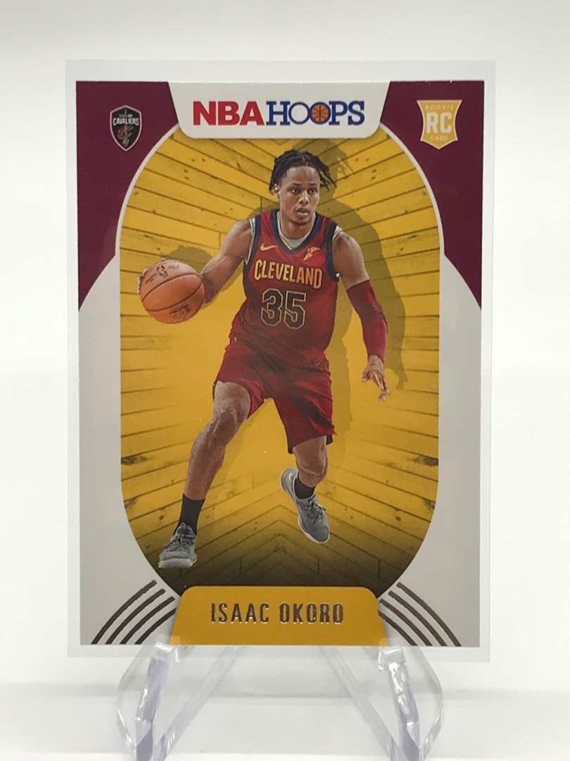 Lot # 165 2020-21 PANINI NBA HOOPS RC ISAAC OKORD (main image)