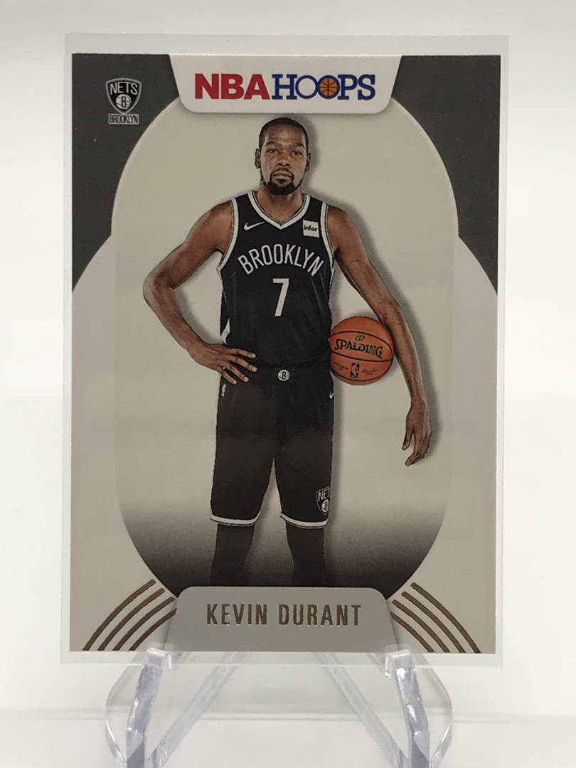 Lot # 168 2020-21 PANINI NBA HOOPS KEVIN DURANT (main image)