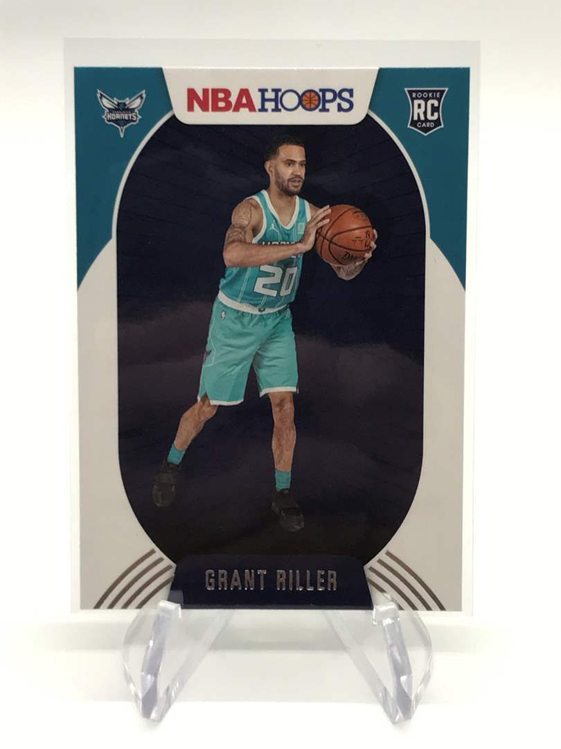 Lot # 179 2020-21 PANINI NBA HOOPS RC GRANT RILLER (main image)