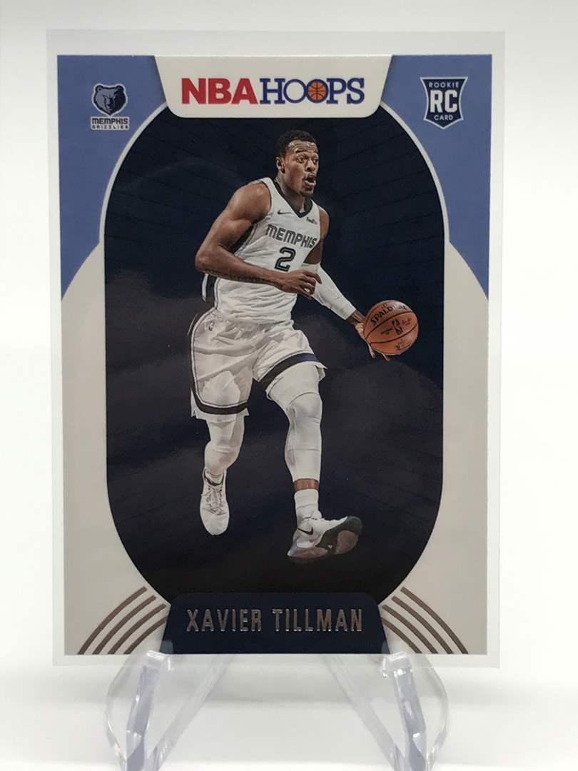 Lot # 180 2020-21 PANINI NBA HOOPS RC XAVIER TILLMAN (main image)