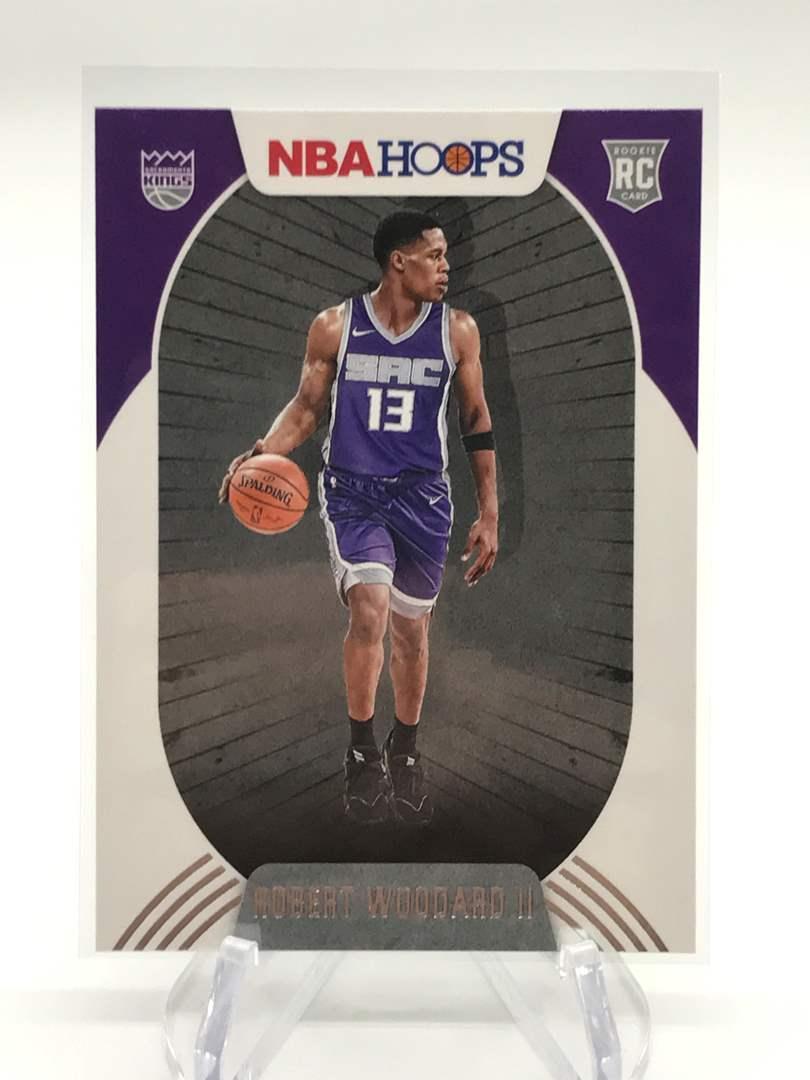 Lot # 181 2020-21 PANINI NBA HOOPS RC ROBERT WOODARD II (main image)