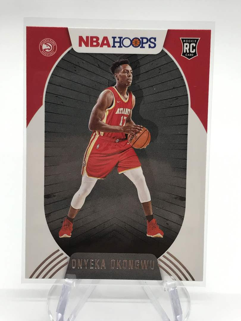 Lot # 182 2020-21 PANINI NBA HOOPS RC ONYEKA OKONGWU (main image)
