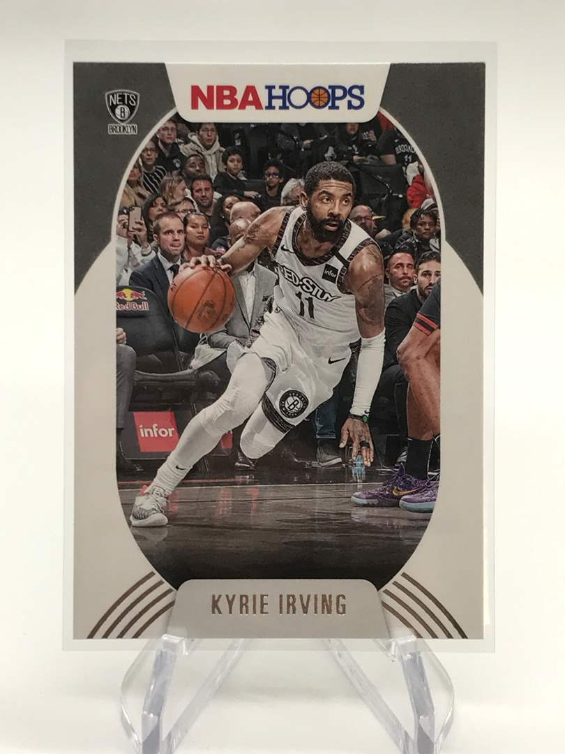 Lot # 186 2020-21 PANINI NBA HOOPS KYRIE IRVING (main image)