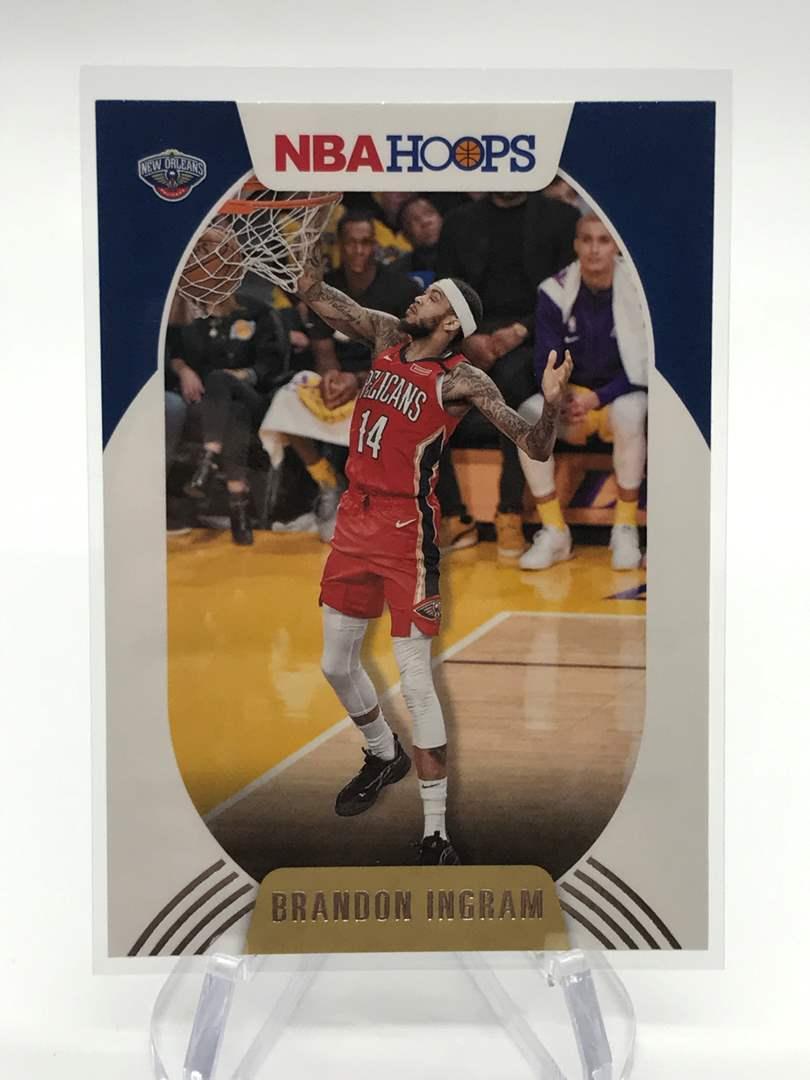 Lot # 188 2020-21 PANINI NBA HOOPS BRANDON INGRAM (main image)