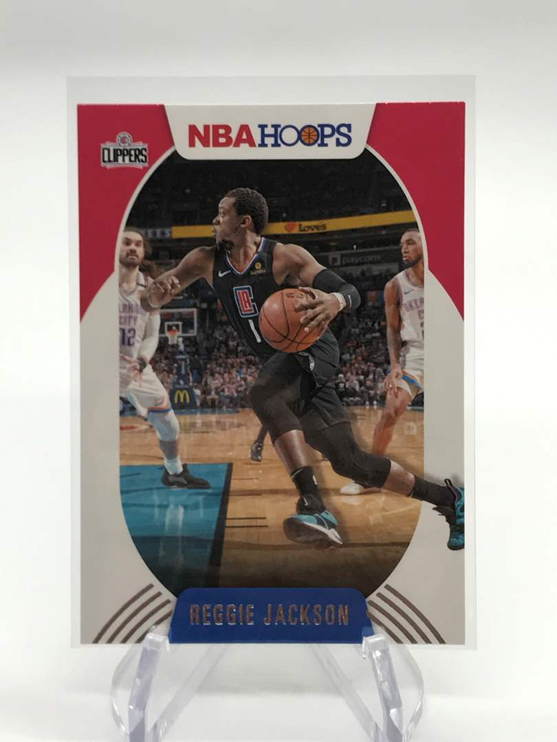 Lot # 190 2020-21 PANINI NBA HOOPS REGGIE JACKSON (main image)