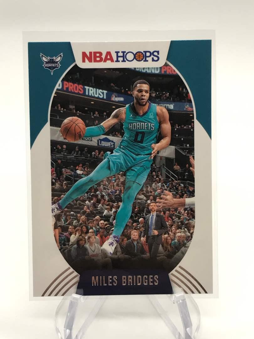 Lot # 193 2020-21 PANINI NBA HOOPS MILES BRIDGES (main image)