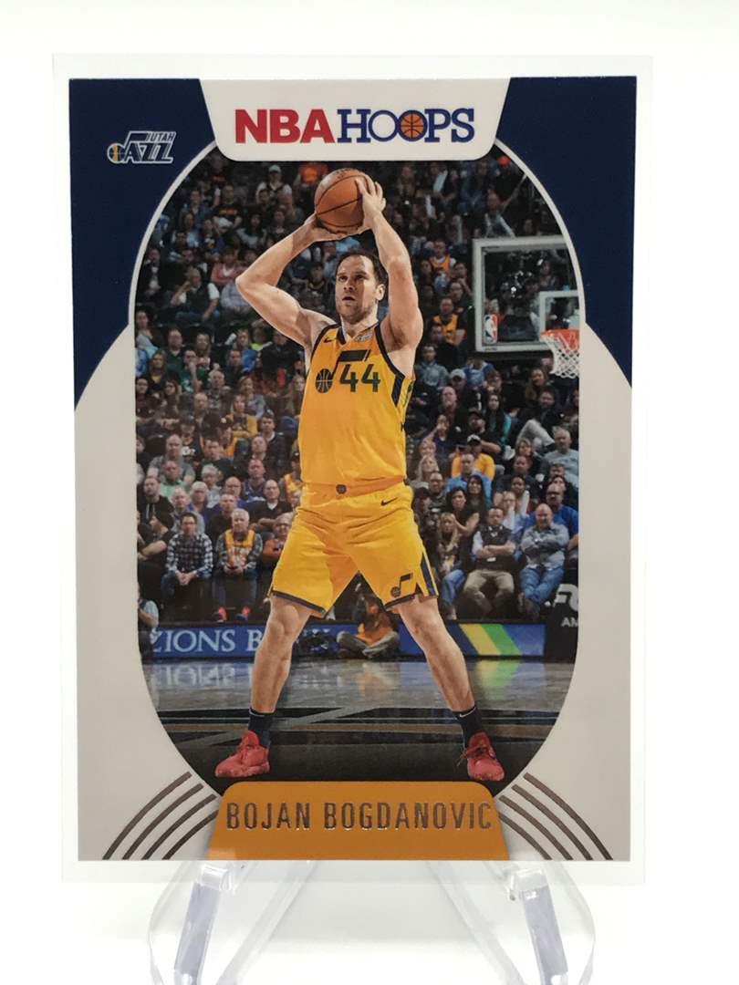 Lot # 196 2020-21 PANINI NBA HOOPS BOJAN BOGDANOVIC (main image)