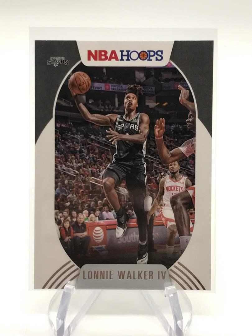 Lot # 197 2020-21 PANINI NBA HOOPS LONNIE WALKER IV (main image)