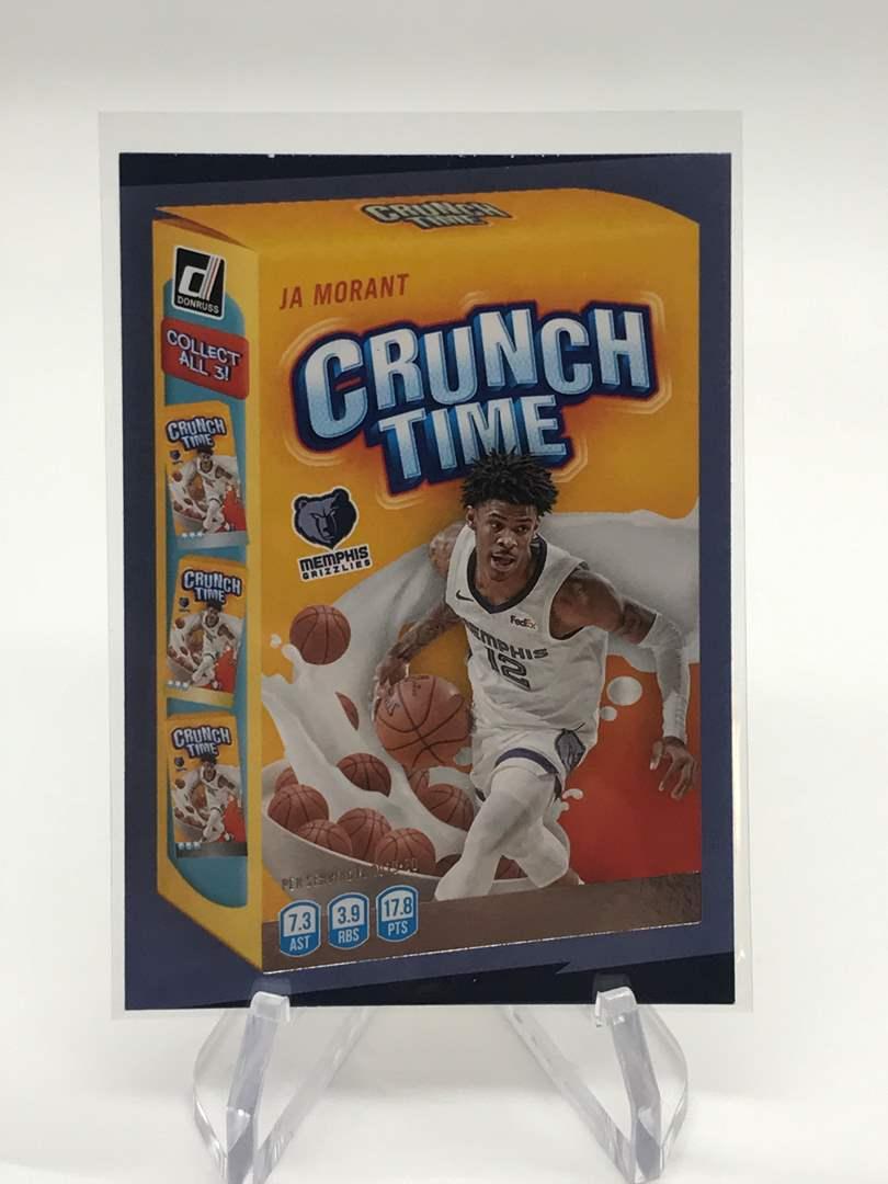 Lot # 216 2020-21 Panini Donruss Crunch Time JA MORANT (main image)