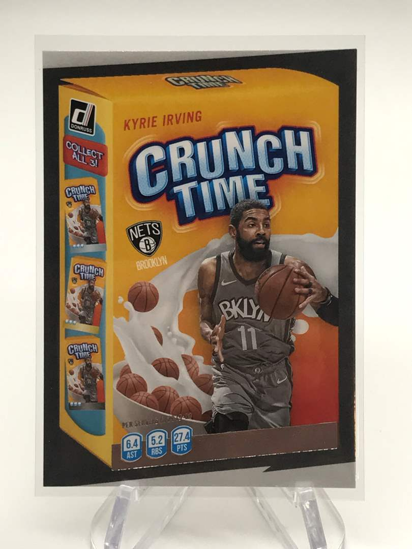 Lot # 217 2020-21 Panini Donruss Crunch Time KYRIE IRVING (main image)