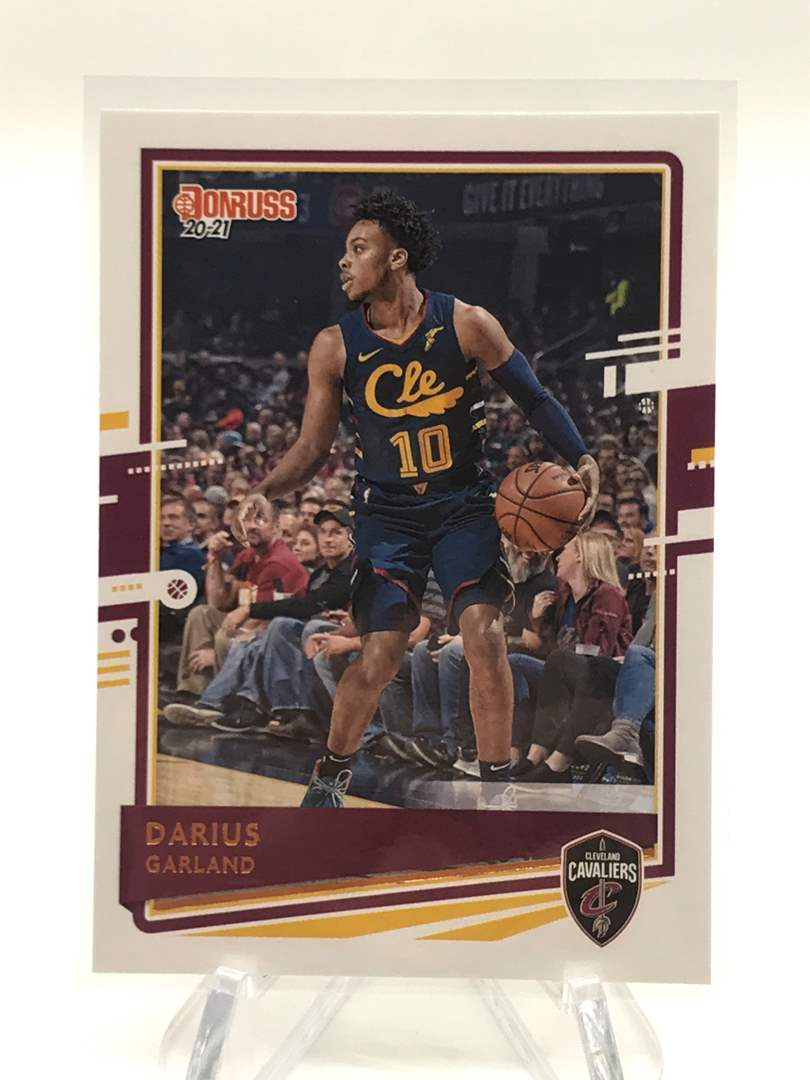 Lot # 229 2020-21 Panini Donruss DARIUS GARLAND (main image)
