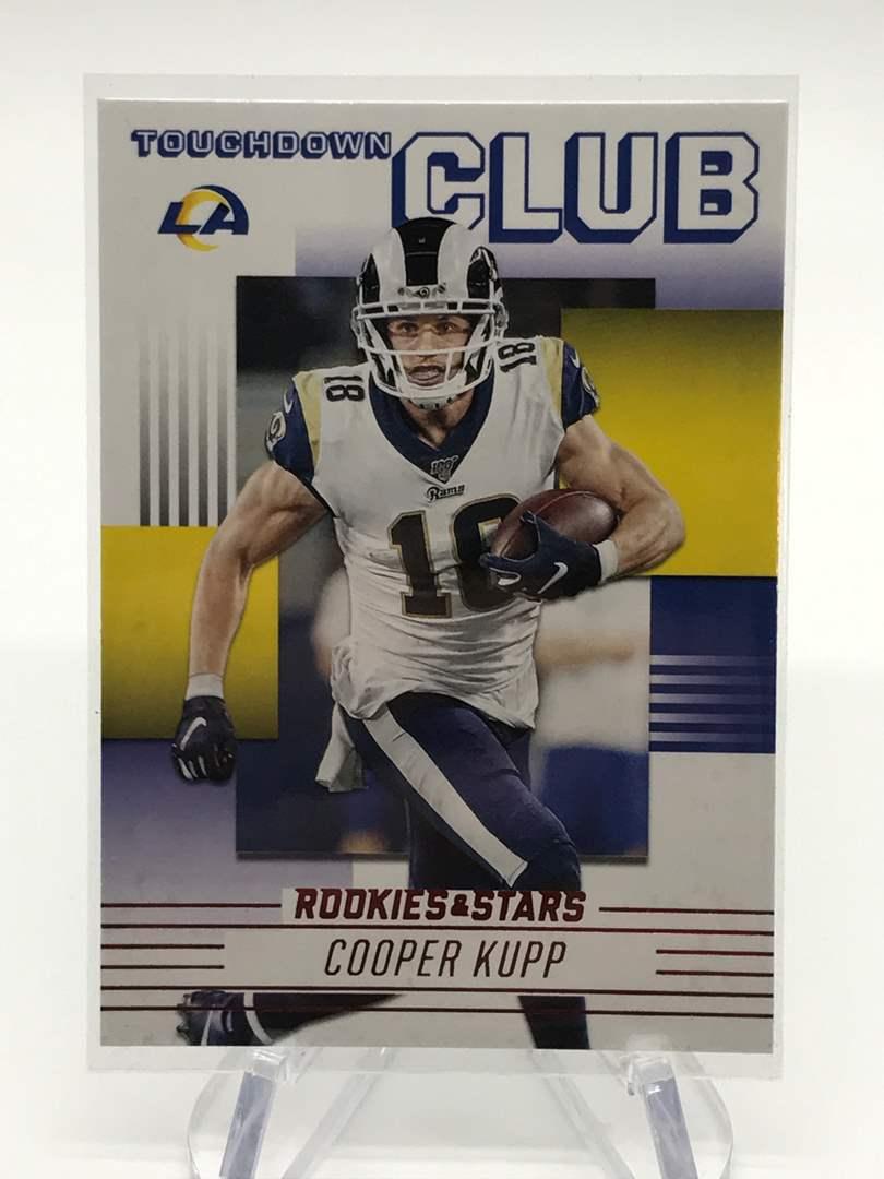 Lot # 249 2020 Rookies & Stars Touchdown Club COOPER KUPP (main image)