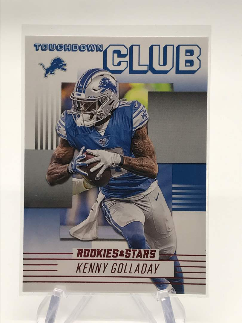 Lot # 256 2020 Rookies & Stars Touchdown Club KENNY GOLLADAY (main image)