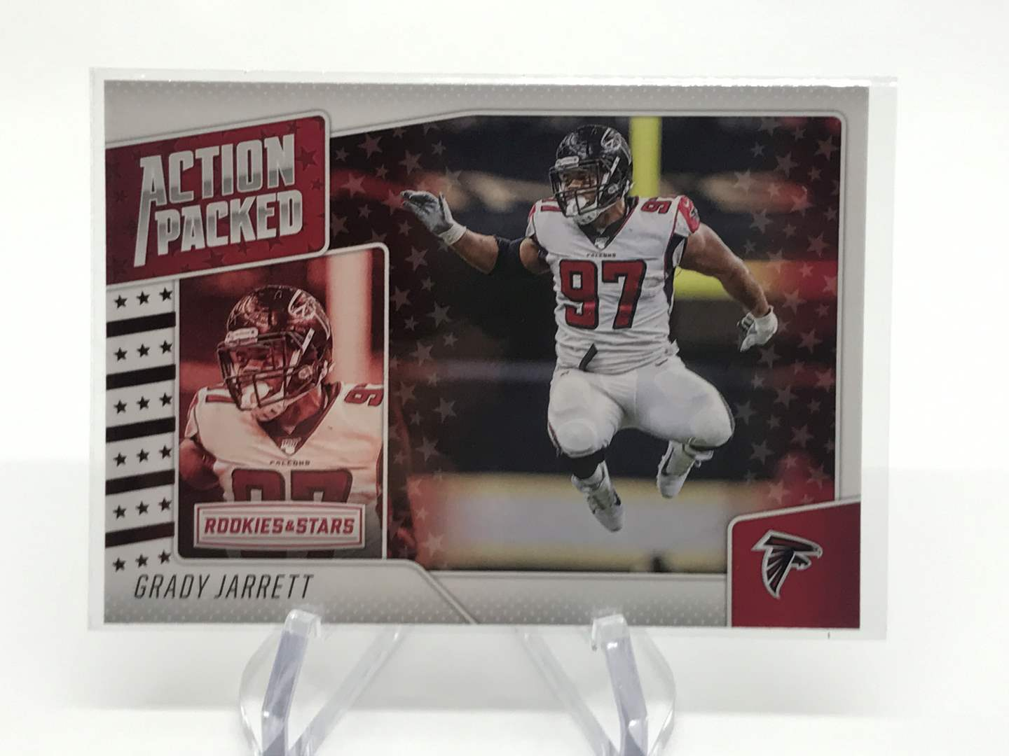Lot # 267 2020 Rookies & Stars Action Packed GRADY JARETT (main image)