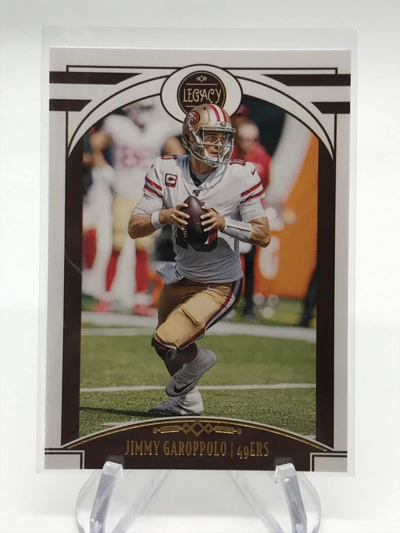 Lot # 286 2020 Panini Legacy JIMMY GAROPPOLO (main image)