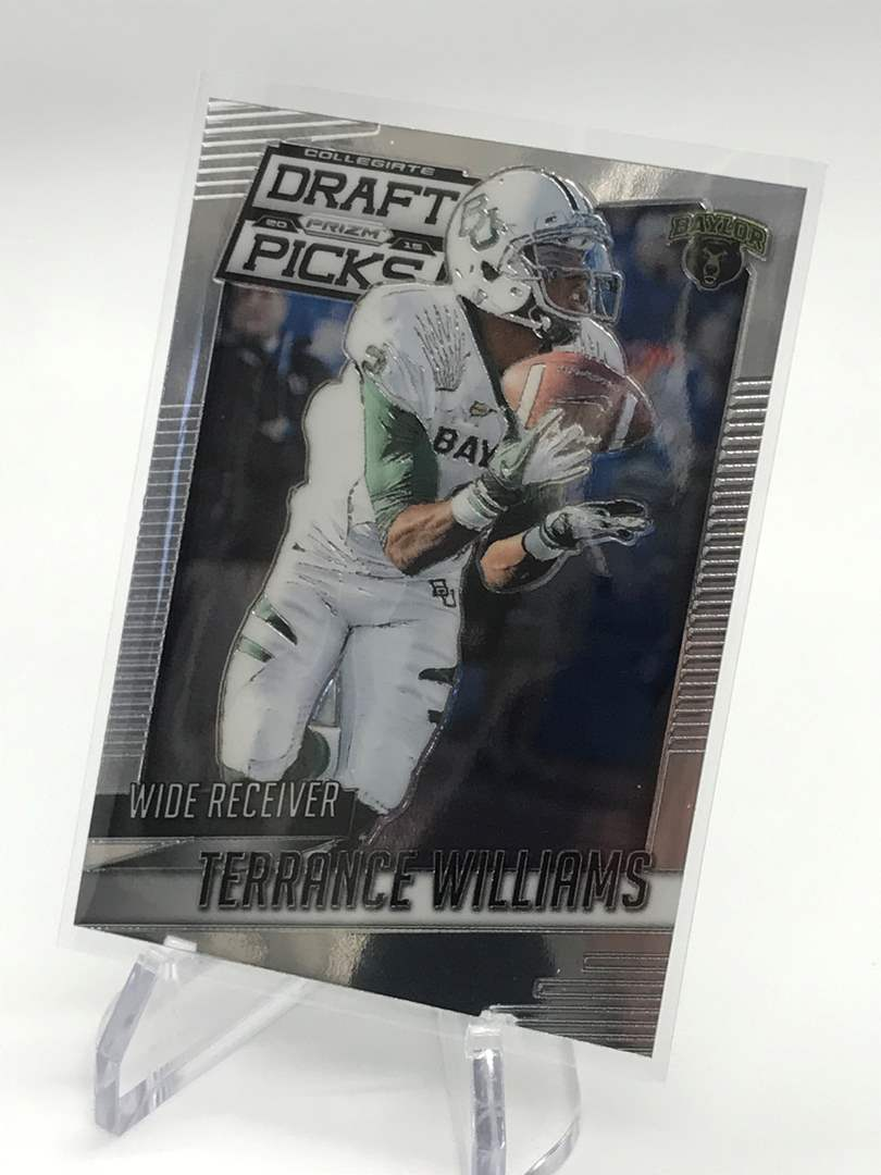Lot # 299 2015 Panini Prizm Draft Picks TERRANCE WILLIAMS (main image)