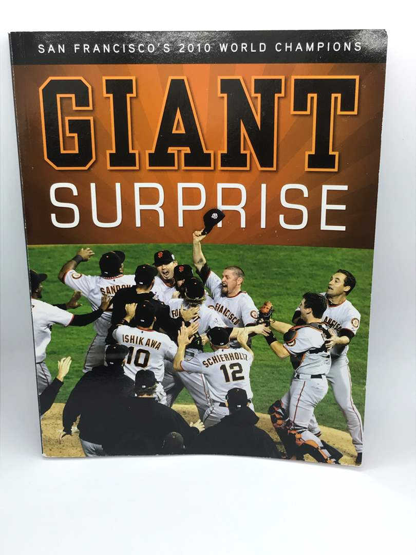 Lot # 300 SAN FRANCISCO'S 2010 WORLD CHAMPIONS GIANT SURPRISE BOOK (main image)