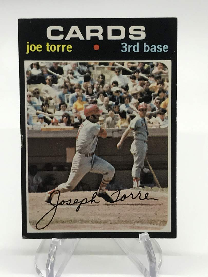 Lot # 310 1971 Topps JOE TORRE (main image)
