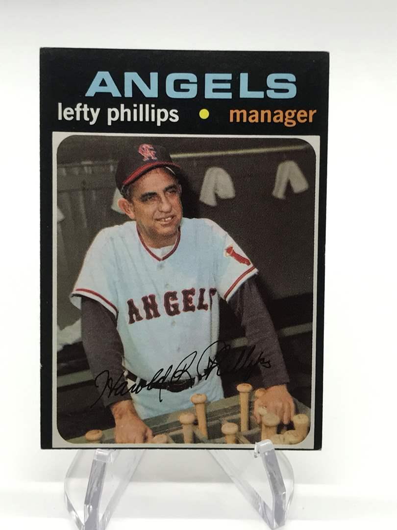 Lot # 326 1971 Topps LEFTY PHILIPS (main image)