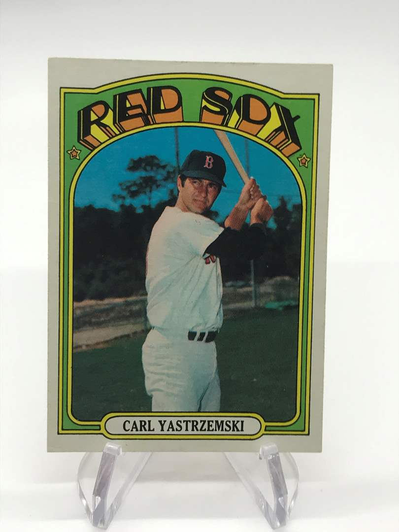 Lot # 331 1972 Topps CARL YASTRZEMSKI  (main image)