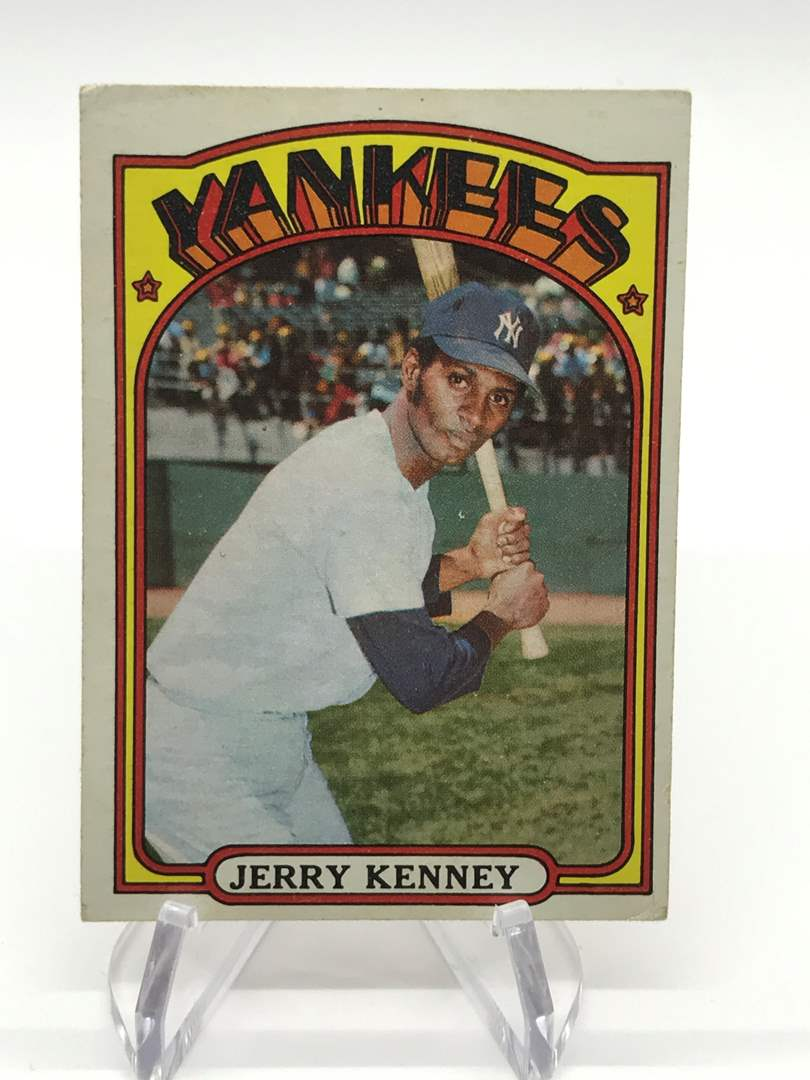 Lot # 337 1972 Topps JERRY KENNEY (main image)