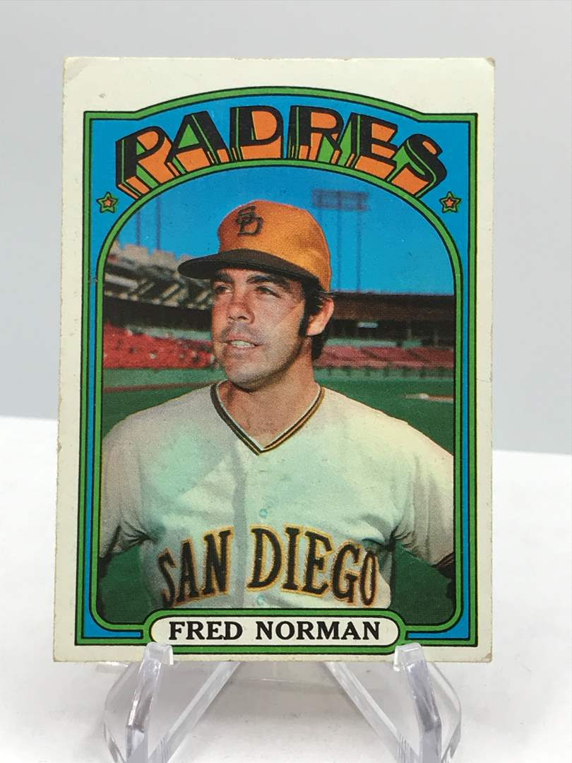 Lot # 338 1972 Topps FRED NORMAN (main image)