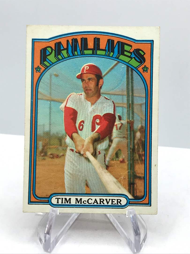 Lot # 339 1972 Topps TIM MCARVER (main image)