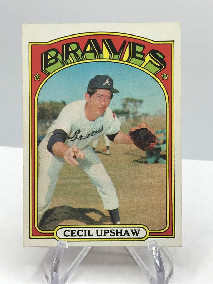 Lot # 342 1972 Topps CECIL UPSHAW (main image)