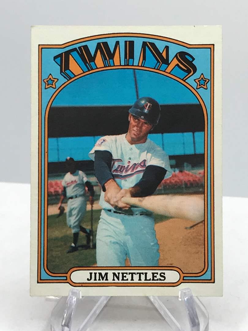 Lot # 344 1972 Topps JIM NETTLES (main image)