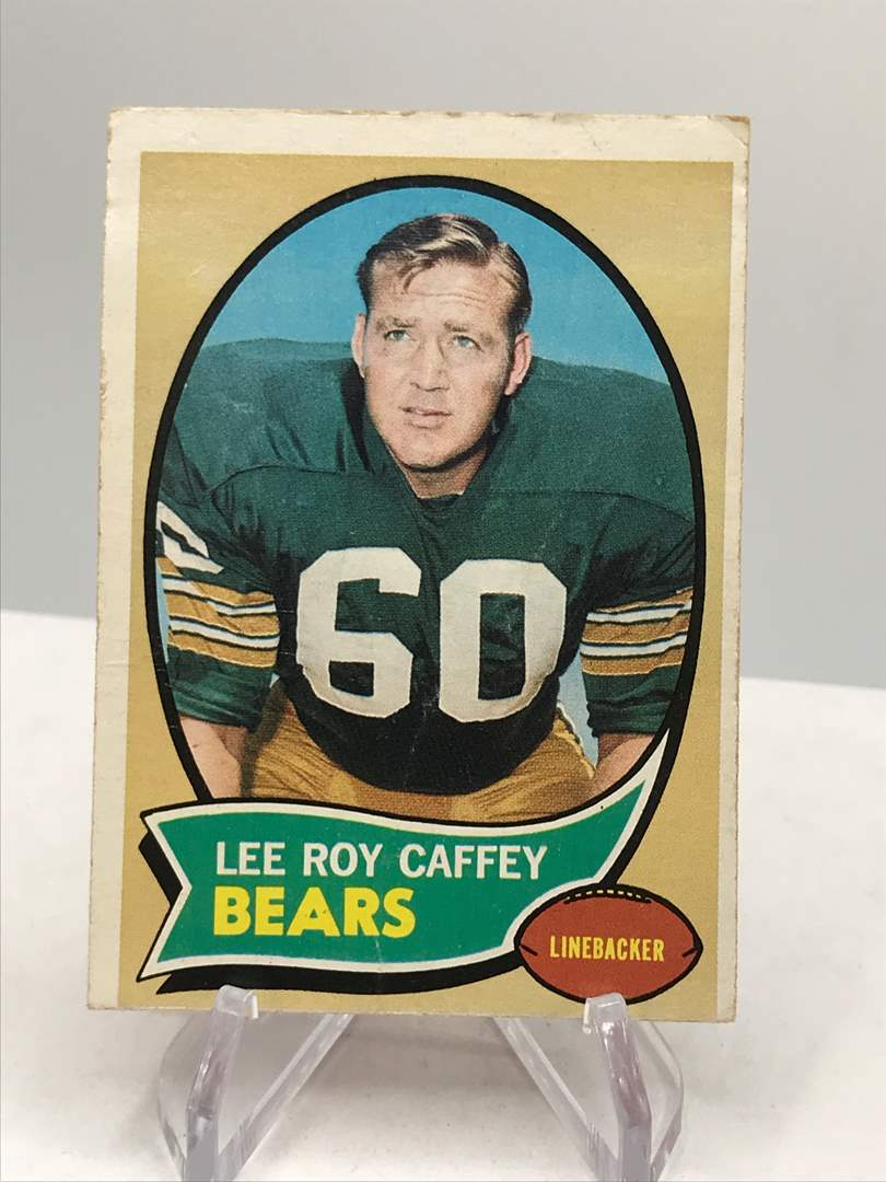 Lot # 348 1970 Topps LEE ROY CAFFEY (main image)