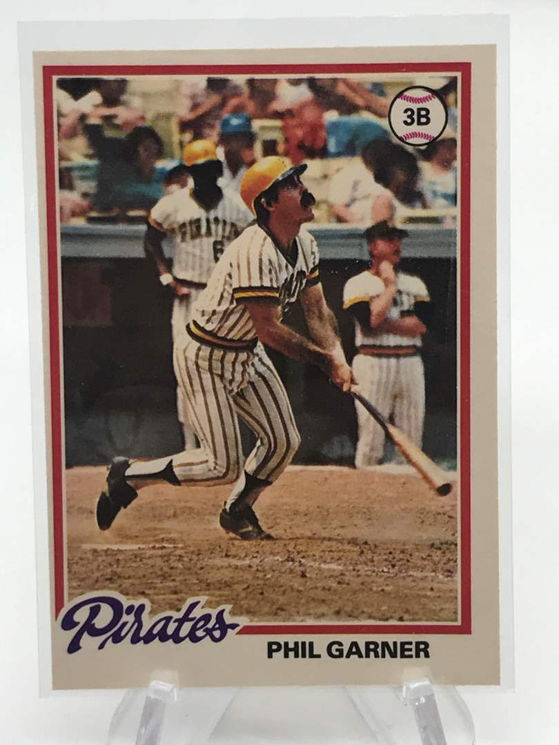 Lot # 240 1978 O-Pee-Chee PHIL GARNER (main image)