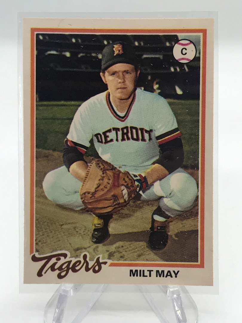 Lot # 241 1978 O-Pee-Chee MILT MAY (main image)