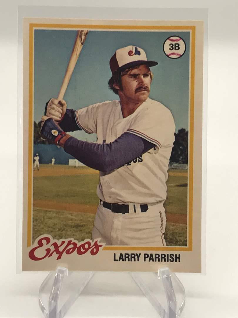 Lot # 242 1978 O-Pee-Chee LARRY PARRISH (main image)