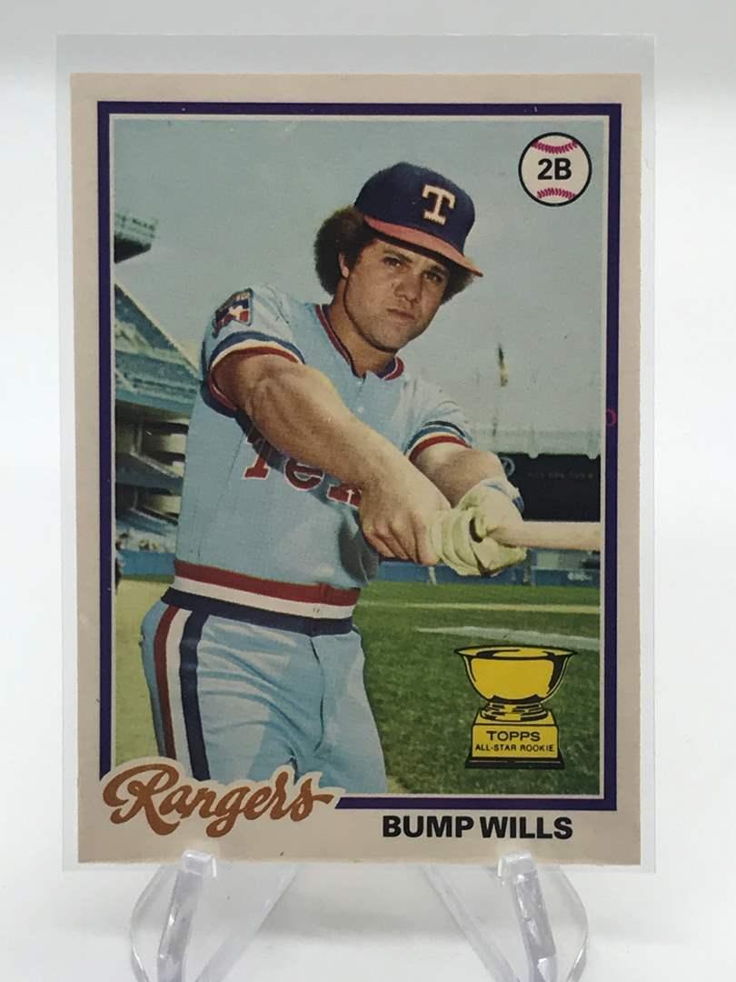 Lot # 249 1978 O-Pee-Chee Rookie BUMP WILLS (main image)