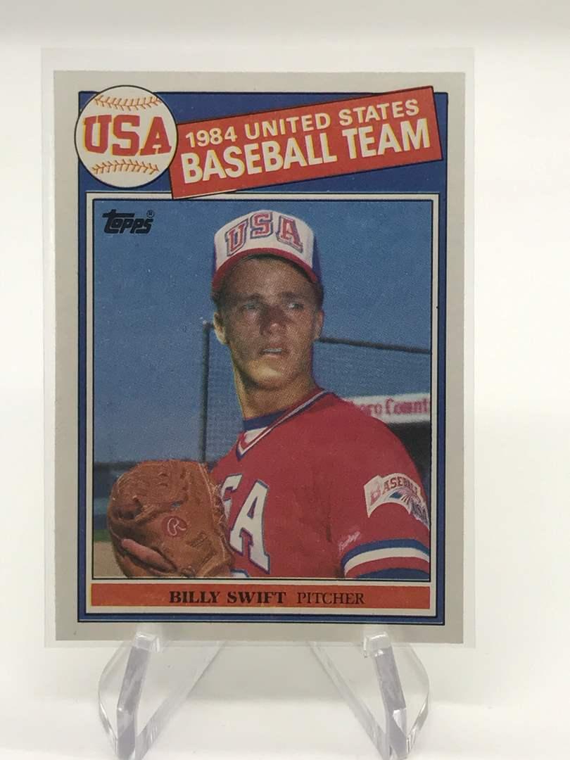 Lot # 251 1985 Topps USA BILLY SWIFT (main image)