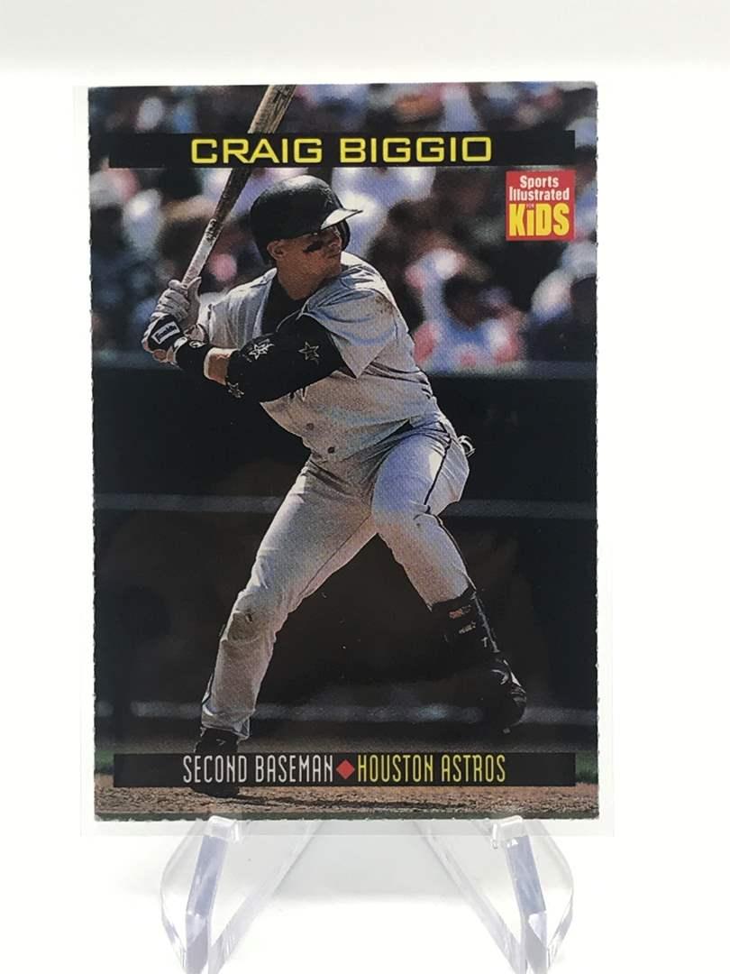 Lot # 253 1999 Sports Illustrated for Kids CRAIG BIGGIO (main image)