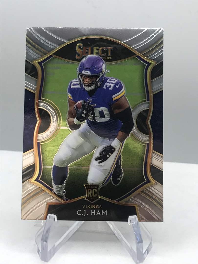Lot # 121 2020 Panini Select Rookie C.J. HAM (main image)