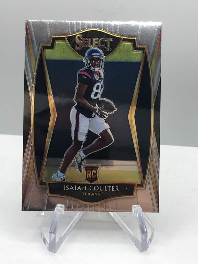Lot # 125 2020 Panini Select Rookie ISAIAH COULTER (main image)