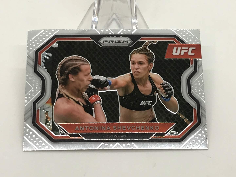 Lot # 197 2021 Panini Prizm UFC ANYONINA SHEVCHENKO (main image)