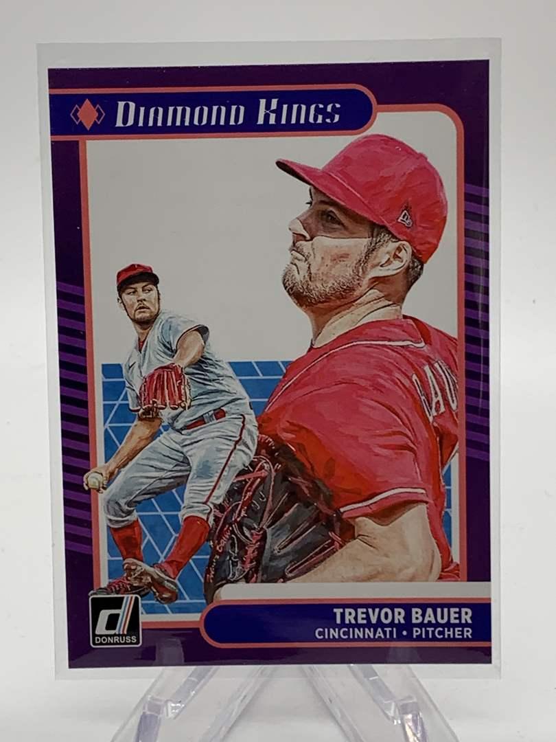 Lot # 12 2021 Panini Donruss TREVOR BAUER Diamond Kings (main image)