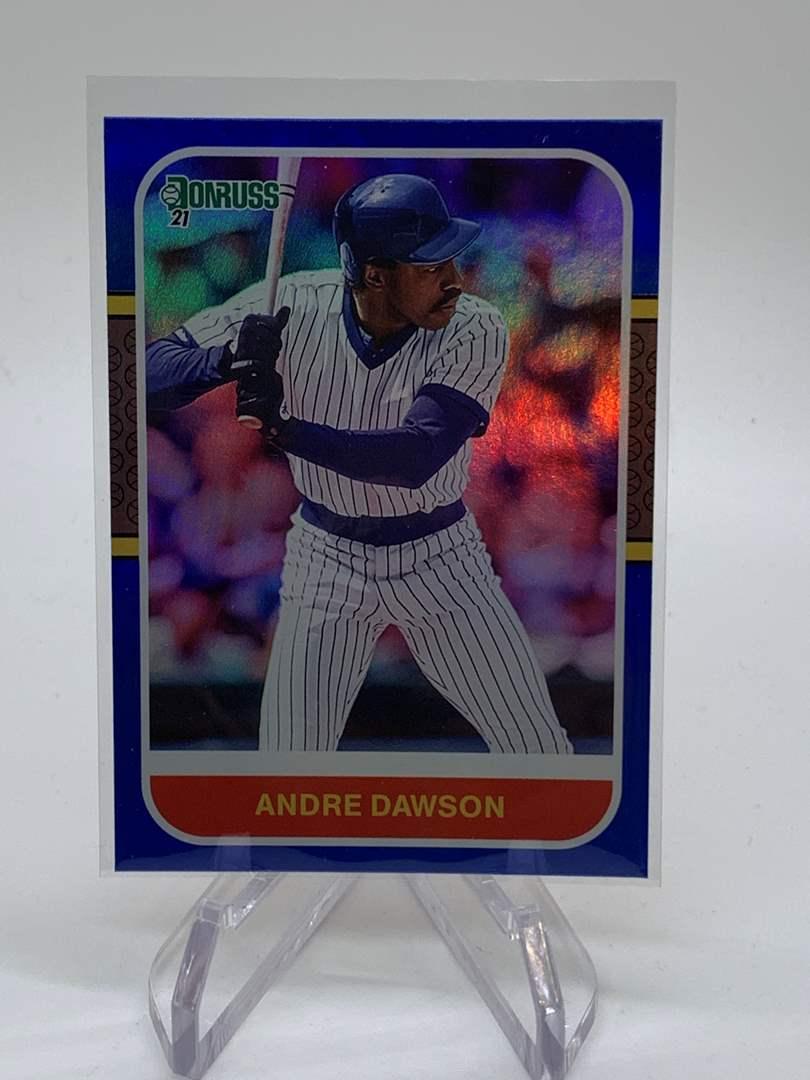 Lot # 38 2021 Panini Donruss ANDRE DAWSON (main image)