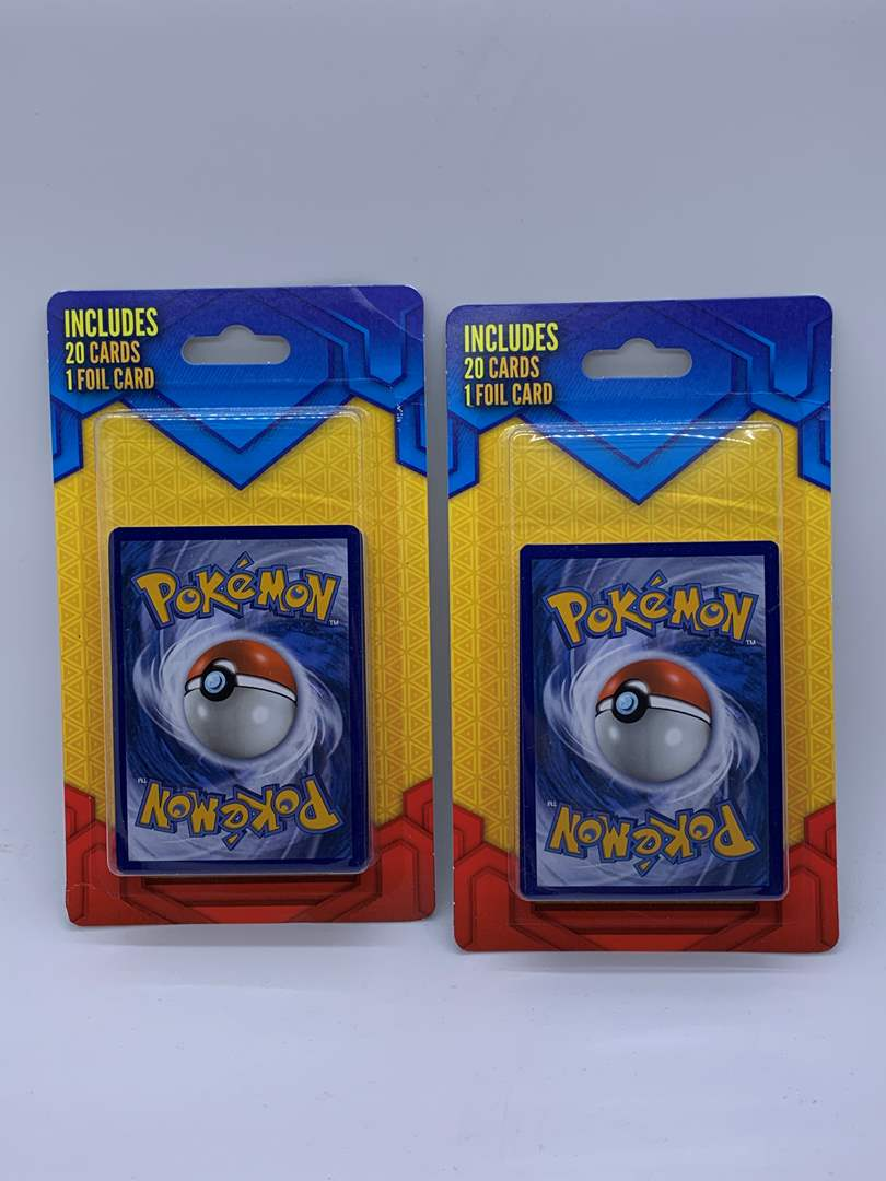 Lot # 109 Two Sealed Pokemon Packs (20 Cards 1 Foil Card) (main image)