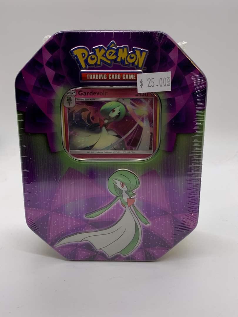 Lot # 110 Sealed Pokemon Tin Gardevoir (main image)