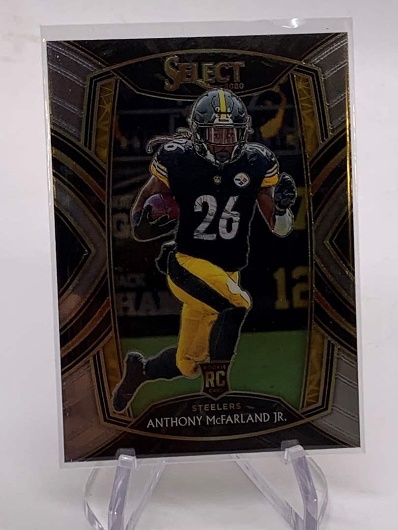 Lot # 115 2020 Panini Select ANTHONY MCFARLAND JR RC Steelers (main image)