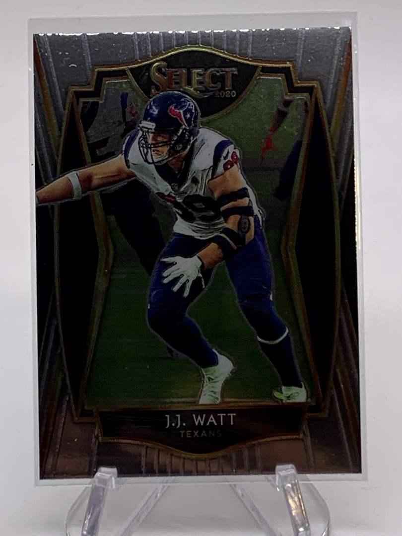 Lot # 117 2020 Panini Select J.J. WATT Texans (main image)
