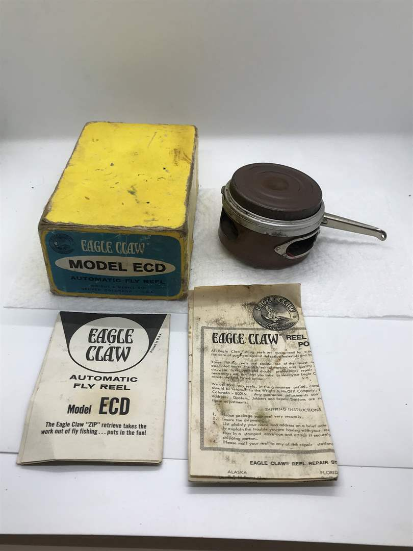 Lot # 58 Eagle Claw Automatic Fly Fishing Reel-Untested  (main image)