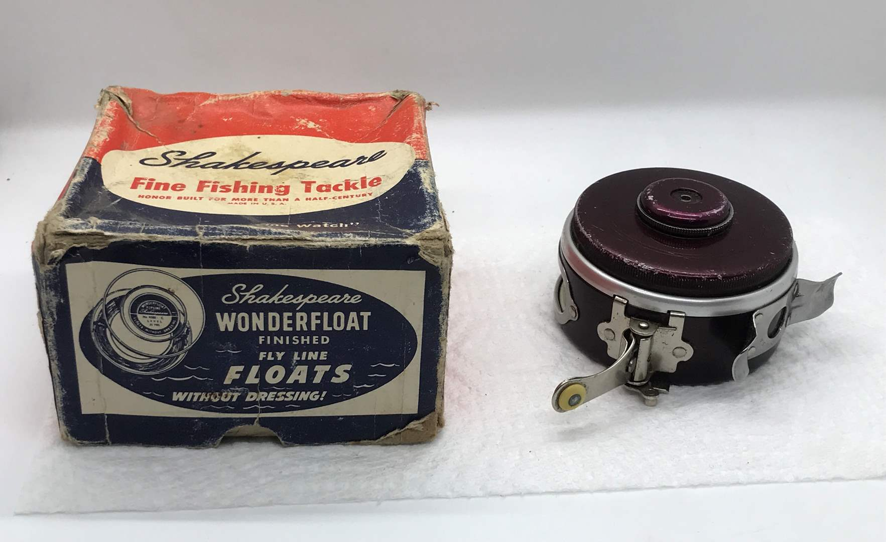 Lot # 59 Shakespeare  Automatic Fly Fishing Reel-Untested  (main image)